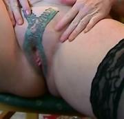 venushügel tattoo fetisch partner