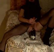 Smoke25 - Sektflasche Anal