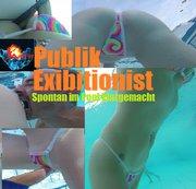 HornyRoxy - Public Exibitionist – Spontan im Pool klargemacht