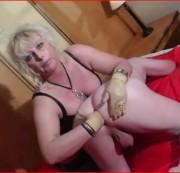 Lady-Blue - MEIN ERSTES FISTING 2013 mit Sack Tortour