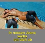 anna-bel - In nassen Jeans wichse ich Dich ab